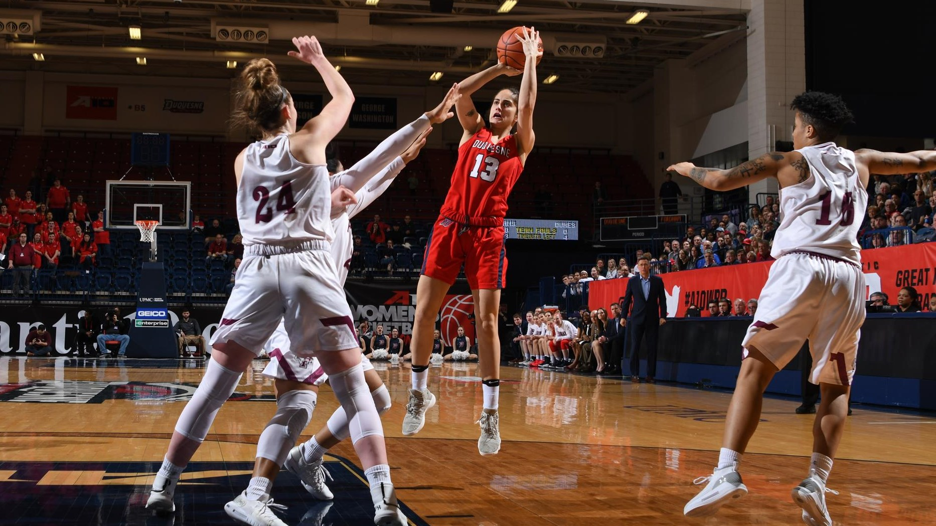 picture relating to Duke Basketball Schedule Printable known as Womens Basketball - Duquesne College Sports activities