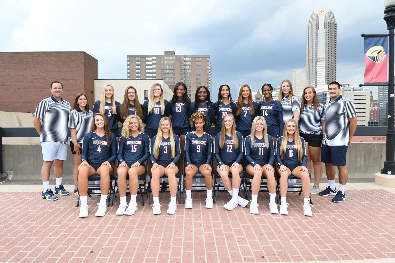 2019 Women S Volleyball Roster Duquesne University Athletics